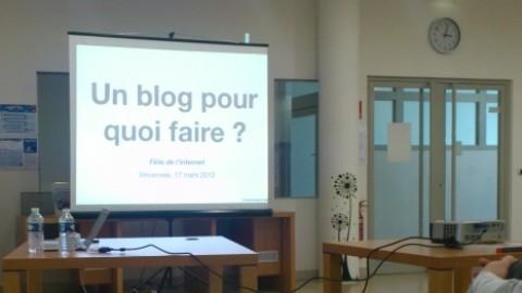 Un blog pour quoi faire et comment?