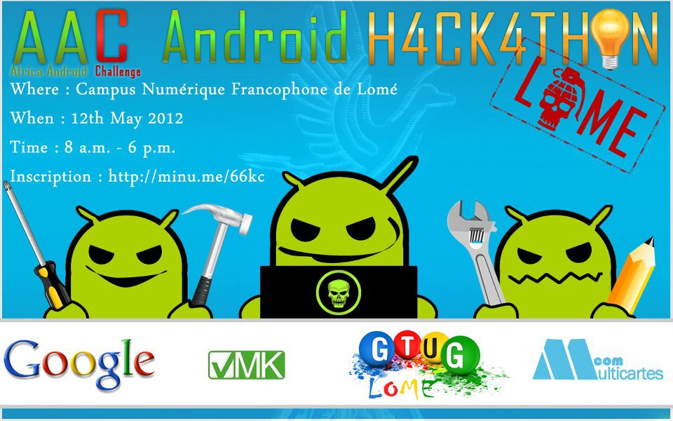 Lome Android Hackathon 2012