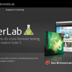 Adobe BrowserLab: aperçu d'une page web sur différents navigateurs