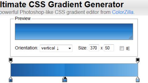 Ultimate CSS Gradient Generator: Générer des dégradés en CSS