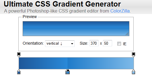 Photo of Ultimate CSS Gradient Generator: Générer des dégradés en CSS