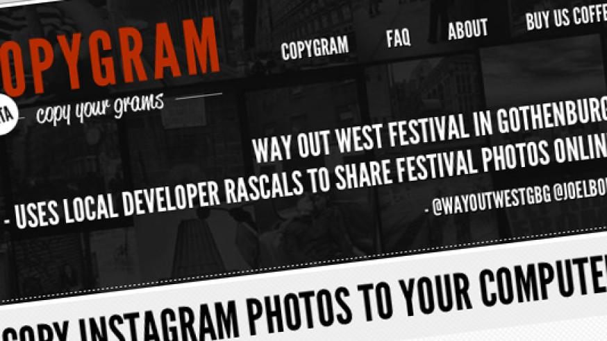 Copygram: Consulter vos photos Instagram sur le Web