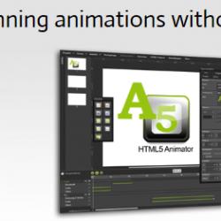 A5 HTML5 Animator: créer des animations pour vos sites web