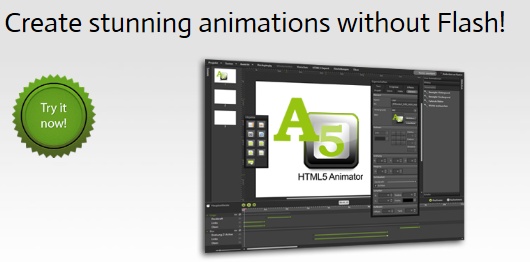 Photo of A5 HTML5 Animator: créer des animations pour vos sites web
