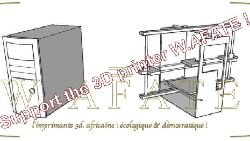W.AFATE to mars : Mettre les déchets électroniques au service de l'aventure spatiale