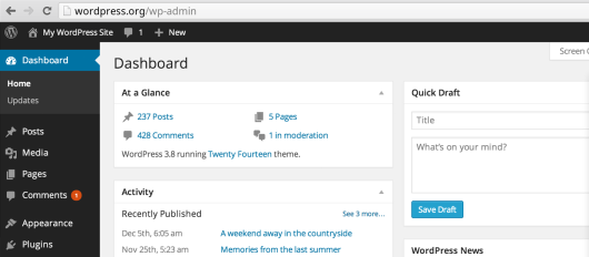 Photo of Wordpress 3.8 : Resoudre le bug de navigation dans l'interface administration