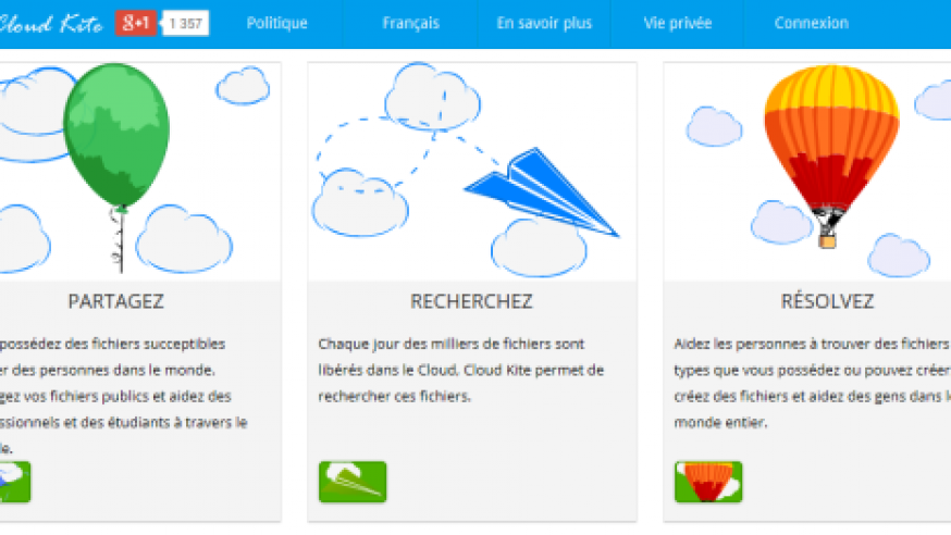 Cloud Kite: l'encyclopédie collective dans le Cloud