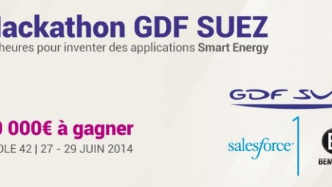 Hackathon Smart Energy GDF SUEZ