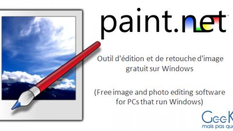 Paint.NET: un outil d'édition et de retouche d'image gratuit