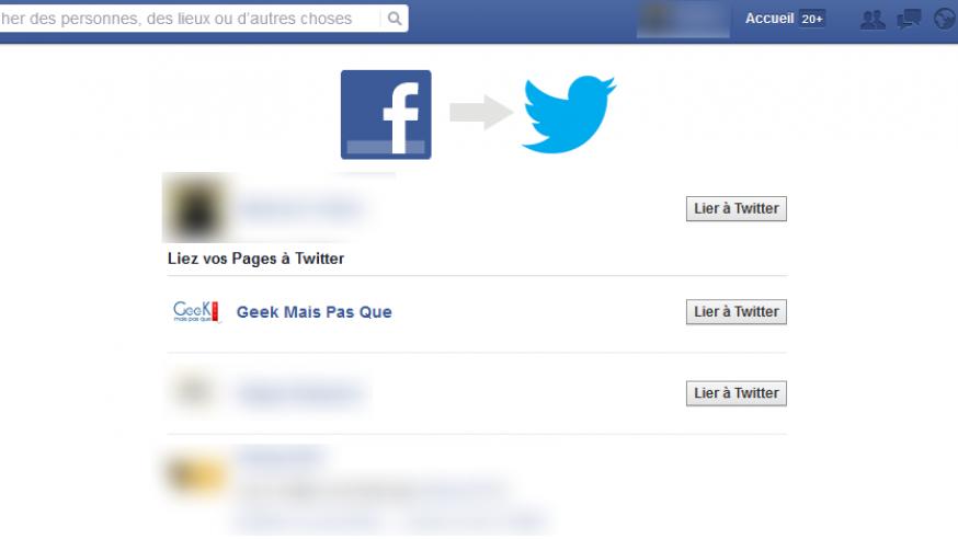 #Astuce : Lier Facebook et Twitter pour des publications simultanées