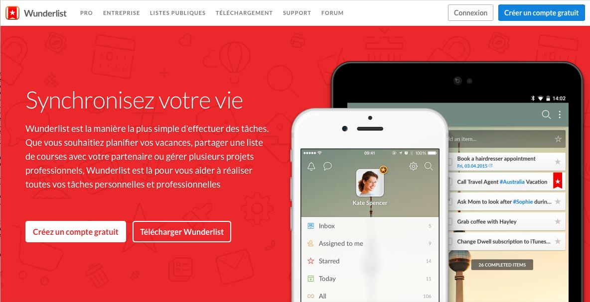 Photo of Wunderlist: créer des listes de tâches collaboratives accessibles sur le Web et tous vos appareils