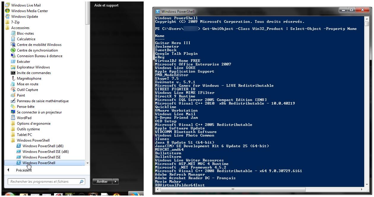 Liste-logiciels-avec-PowerShell