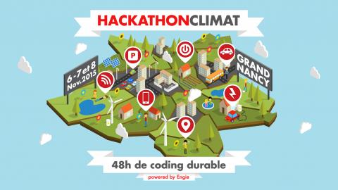 Hackathon climat avec ENGIE et Le Grand Nancy