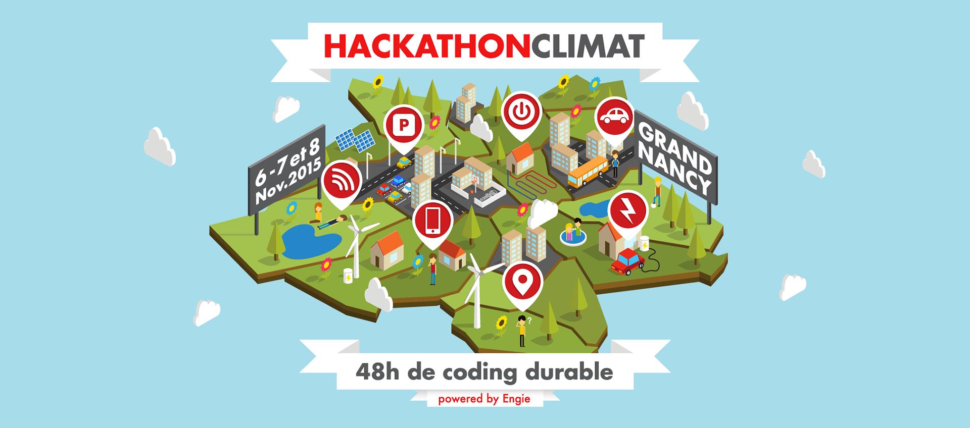 Photo of Hackathon climat avec ENGIE et Le Grand Nancy
