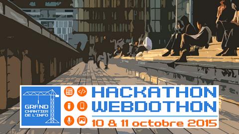 #GdChantierInfo : Hackathon dataviz et Webdothon sur le changement climatique