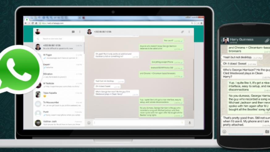 #Astuce : Avec WhatsApp Web, vos conversations sont dans votre navigateur web