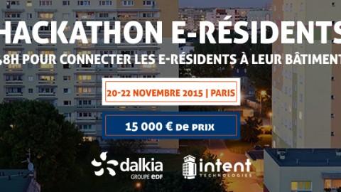 Hackathon e-résidents & SmartBuilding avec Dalkia et Intent Technologies
