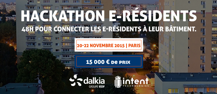 Photo of Hackathon e-résidents & SmartBuilding avec Dalkia et Intent Technologies