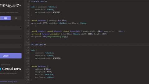 Dirty markup : organiser son code HTML, CSS et JavaScript [#DevWeb]
