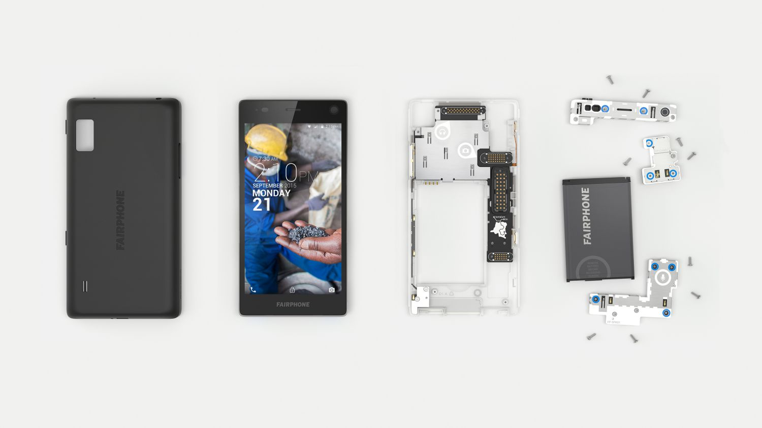 Photo of FairPhone 2: le smartphone éthique, modulaire et durable
