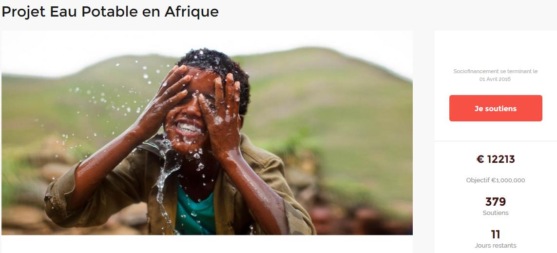 Projet Eau Potable en Afrique par ItsAboutMyAfrica