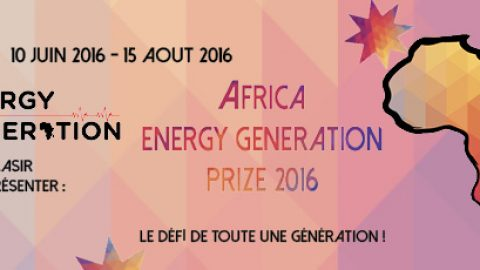Africa Energy Generation Prize 2016 : Appel à candidatures