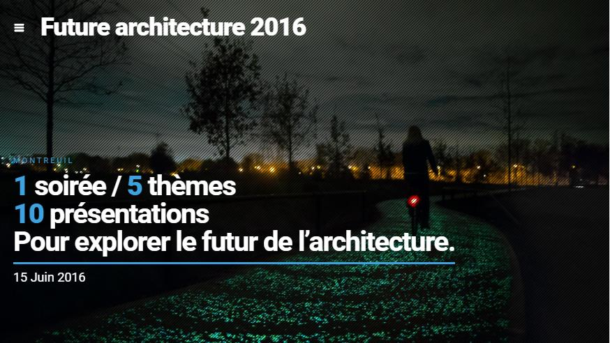 Photo of Green, Smart & Collaborate : Future Architecture Night 2016 [#FanArchi]