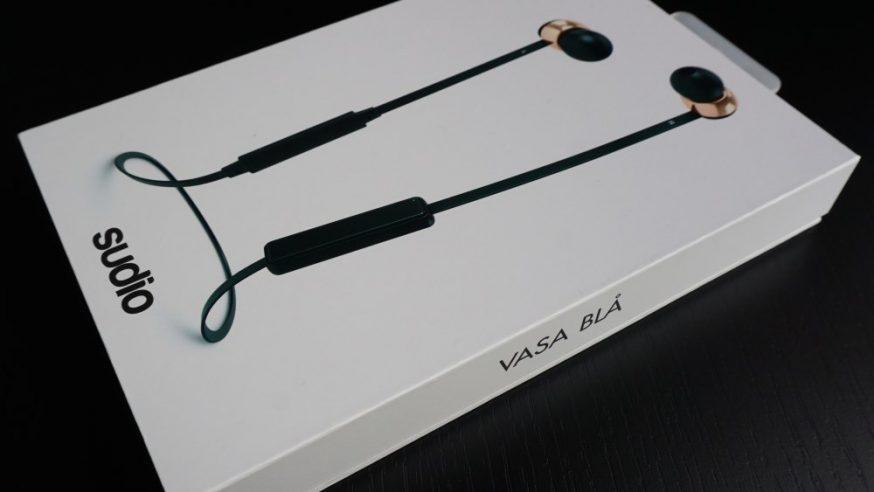 Sudio Vasa Bla : des écouteurs intra-auriculaires haut de gamme sans fil
