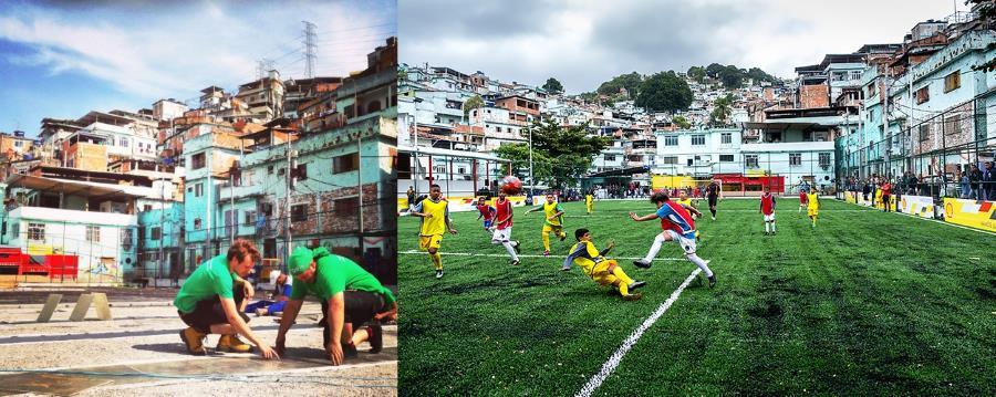 © Pavegen - Rio de Janeiro, Brazil