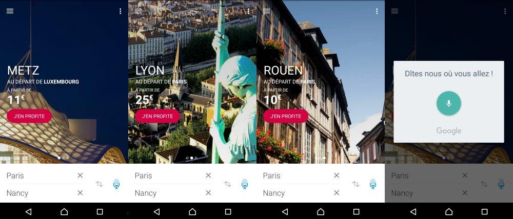 Metz et Lyon, correspondent à des destinations récentes et je suis invité à aller visiter Rouen !