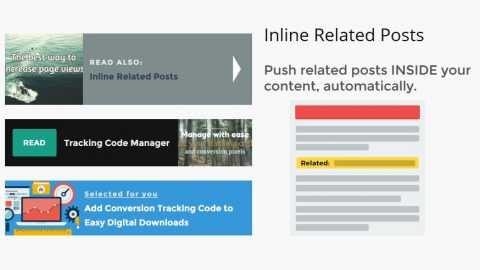 Inline Related Posts : insérer des articles similaires dans le contenu des articles de votre site ou blog