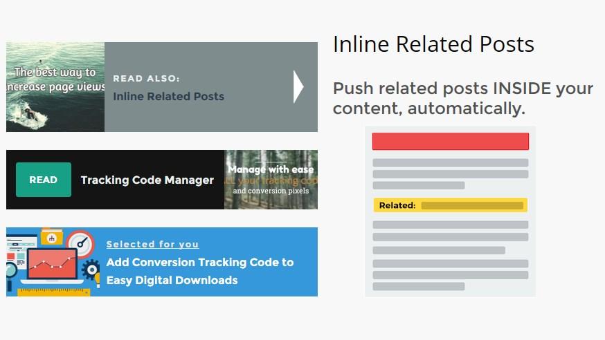 Photo of Inline Related Posts : insérer des articles similaires dans le contenu des articles de votre site ou blog
