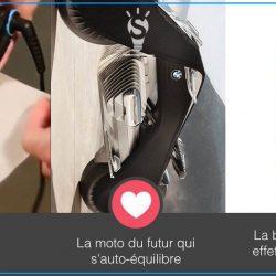 Le mini fer à repasser, la moto du futur par BMW, la bière qui scintille [#3innovations1minute]