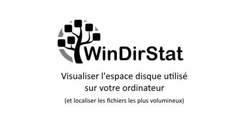 WinDirStat : Localiser les fichiers volumineux sur votre disque dur