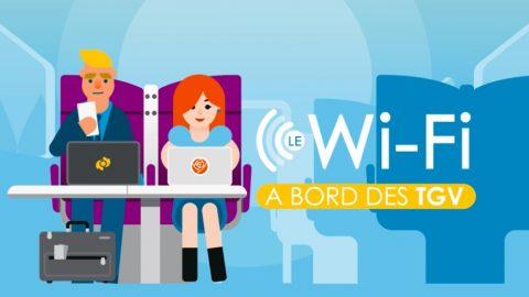 La SNCF met du Wifi à bord des TGV pour un accès gratuit à Internet