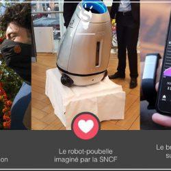 [3 innovations en 1minute] Découvrez Wair le foulard anti pollution, Baryl la poubelle mobile, Proof le bracelet qui surveille votre alcoolémie