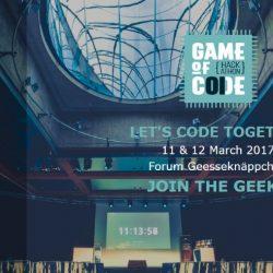 [#Hackathon] Game Of Code 2017 : Des challenges sur la réalité virtuelle/augmentée et l'opendata à Luxembourg