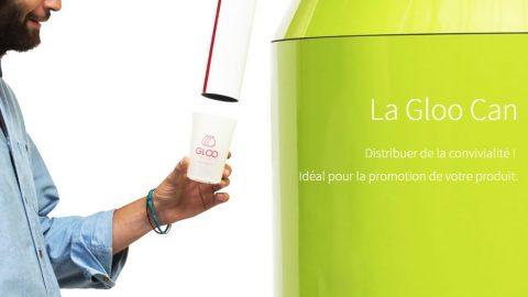 Gloo invente la fontaine à boissons connectée et pensée pour vos événements