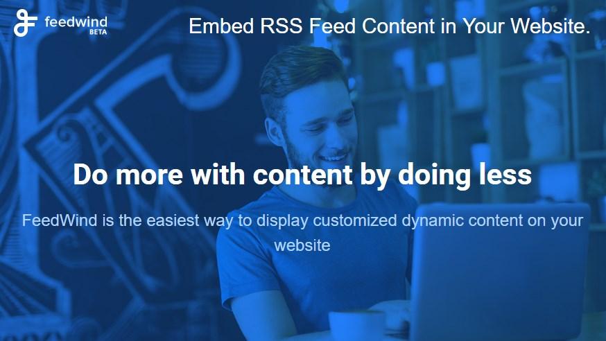 Favori FeedWind : un outil gratuit pour insérer un flux RSS sur un site  TL72