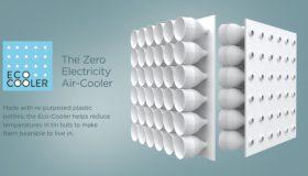 Eco-cooler : fabriquer un climatiseur écologique avec des bouteilles en plastique