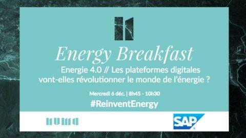 #ReinventEnergy : Energie 4.0 – Les plateformes digitales vont-elles révolutionner le monde de l'énergie ?