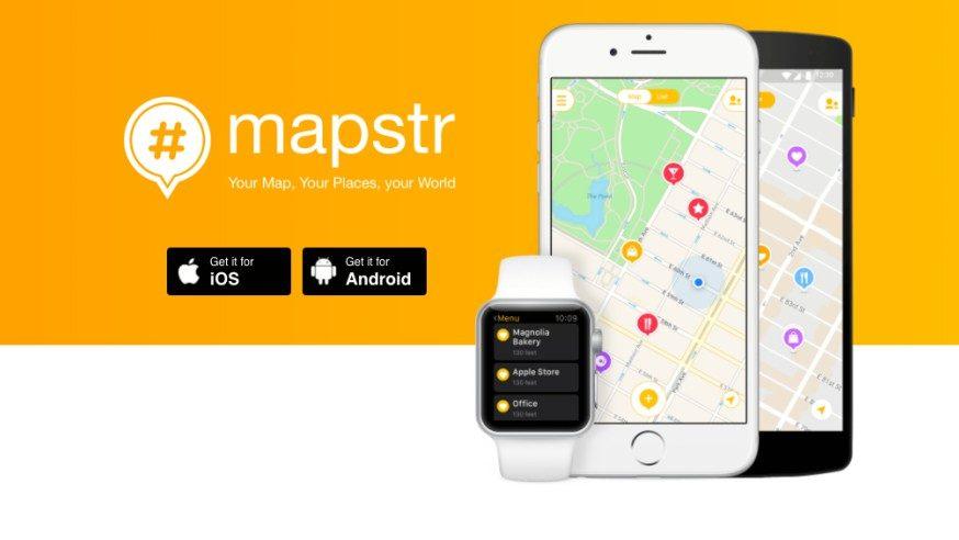Mapstr : Enregistrer vos adresses préférées et lieux favoris pour les retrouver facilement