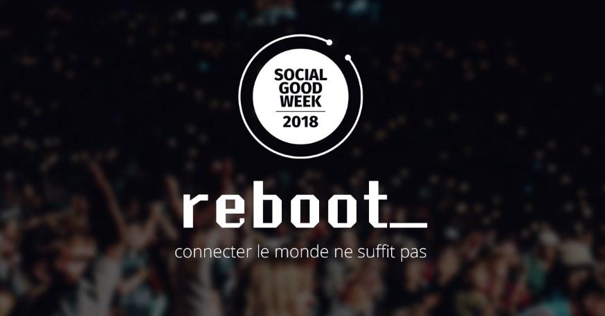 SocialGoodWeek 2018 REBOOT