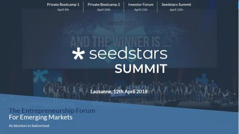 [#Lausanne] Seedstars Summit : Le forum Tech des startups des pays émergents