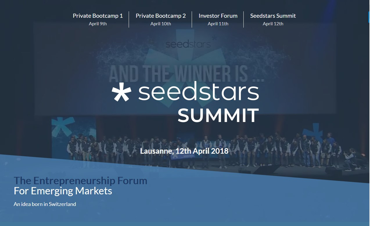 Photo of [#Lausanne] Seedstars Summit : Le forum Tech des startups des pays émergents