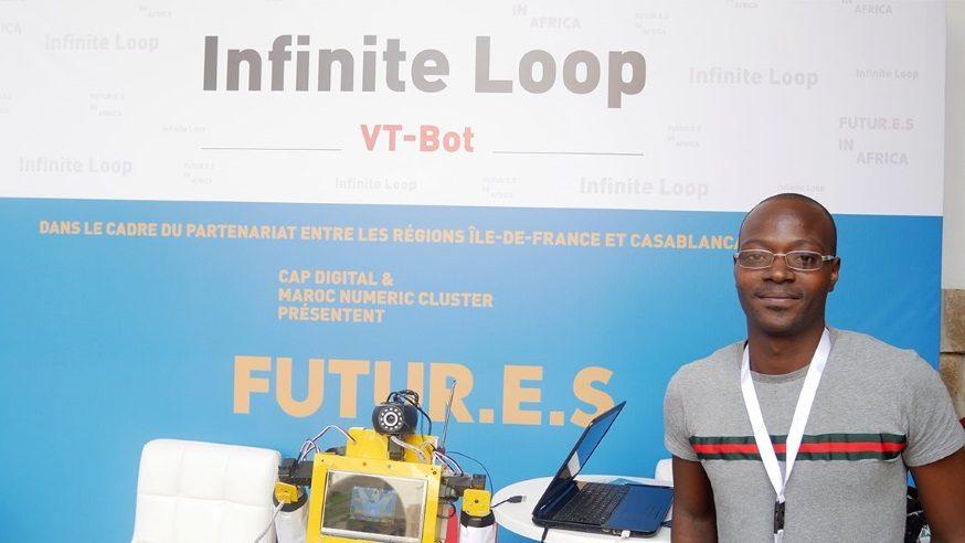 VT-Bot : le robot enseignant créé par Sam Kodo, inventeur togolais passionné de robotique