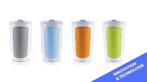R3D3, la poubelle intelligente et connectée qui trie pour vous !