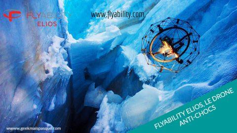 Flyability Elios : le drone anti-chocs pour explorer les endroits inaccessibles