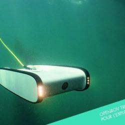 OpenROV Trident : un drône sous-marin pour explorer les fonds marins