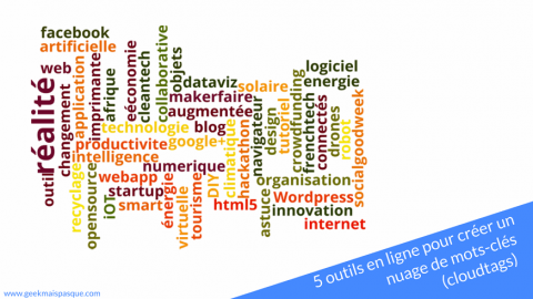 5 outils en ligne pour créer un nuage de mots-clés (cloudtags)